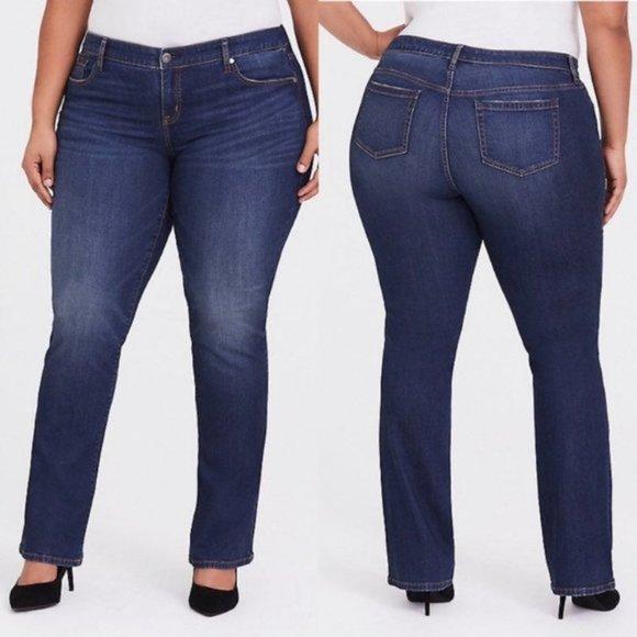 Torrid High Rise Bootcut Jeans Plus 18Tall